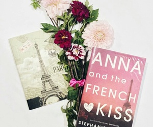 book, paris, and anna and the french kiss image