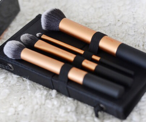 Brushes, makeup, and beauty image