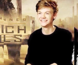 thomas sangster, the scorch trials, and newt image