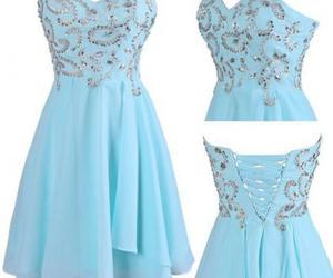 girly, prom dress, and homecoming dresses image
