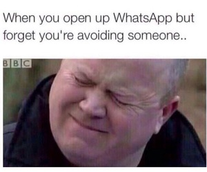 funny, whatsapp, and avoid image