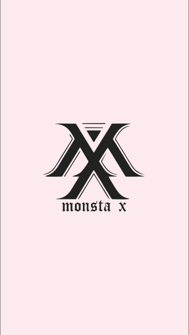 Monsta X Logo Wallpaper Shared By Angely On We Heart It