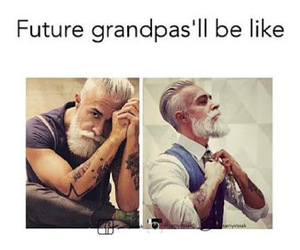 future, grandpa, and funny image