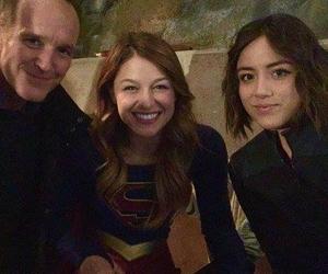 melissa benoist, Supergirl, and chloe bennet image