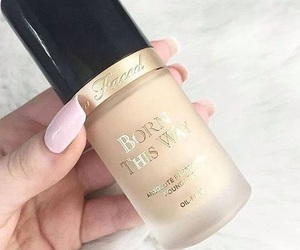 makeup, too faced, and nails image