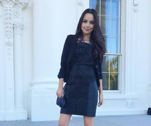 dress, outfit, and vanessa merrell image
