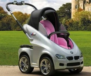 baby, bmw, and car image