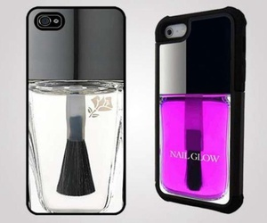 case, iphone, and nailpolish image