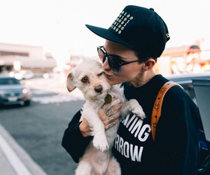 ruby rose and dog image