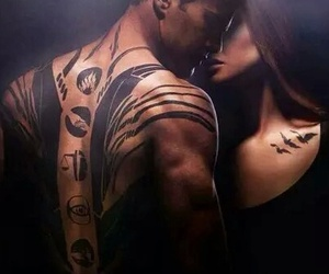divergent, four, and tattoo image