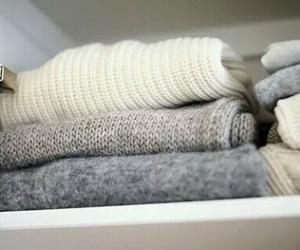sweater, closet, and fashion image