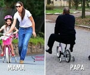 funny, mom, and papa image
