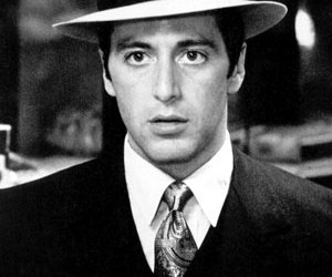 al pacino and michael corleone image
