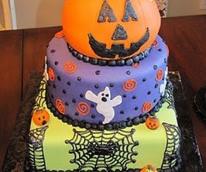 cake and Halloween image