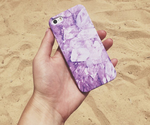 beach, case, and crystal image