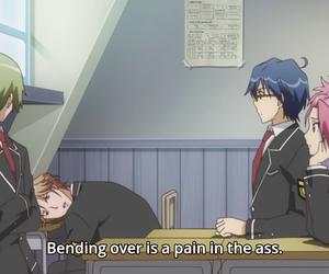anime, binan koukou, and chikyuu bouei-bu image