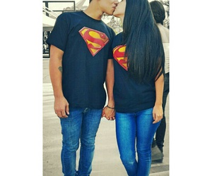 couples, goals, and superman image