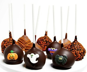 Halloween, cake pops, and cute image