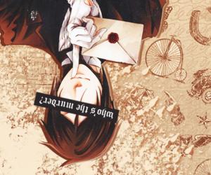 black butler, kuroshitsuji, and manga image