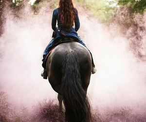 dreams, fairy, and horse image