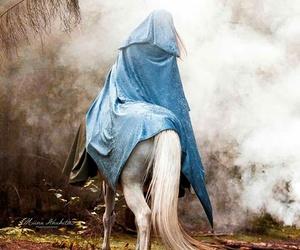 horse, magic, and princess image