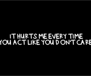 hurt, care, and act image