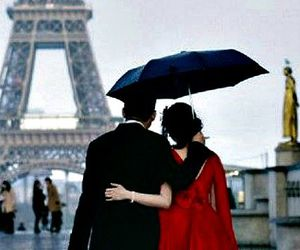 beautiful, eiffel tower, and romantic image