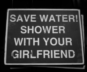 girlfriend, shower, and water image