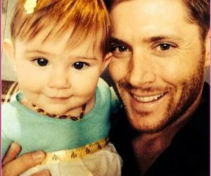 Jensen Ackles, supernatural, and baby image