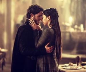 game of thrones, robb stark, and couple image