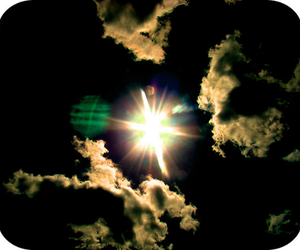 afternoon, sun, and cloud image