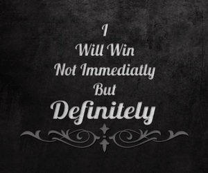 win, quotes, and definitely image
