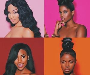 black girls, darkskin, and brownskin image