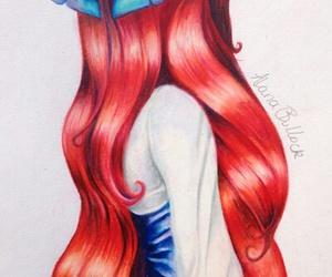 ariel, princess, and disney image