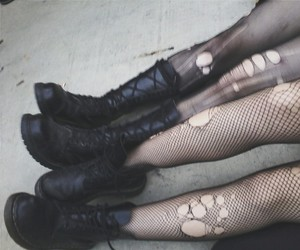 black, dark, and legs image