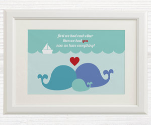 baby room, blue, and family image