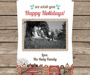 2016, christmas card, and email image