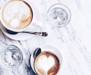 coffee, drink, and water image