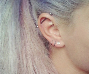 awesome, earrings, and Piercings image