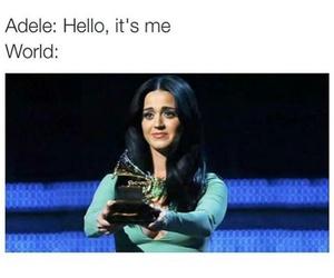 Adele, hello, and funny image