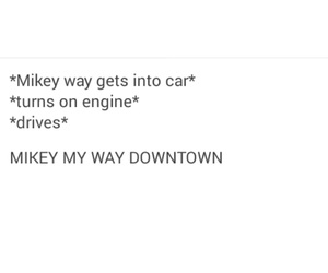 funny, mcr, and mikey way image