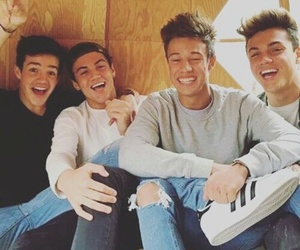 cameron dallas, aaron carpenter, and grayson dolan image