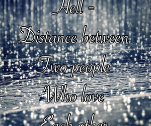 couple, distance, and hell image