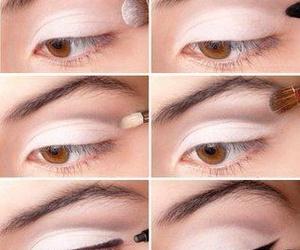 color, eye, and makeup image