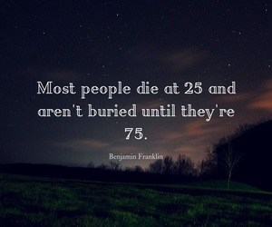 quote, die, and people image
