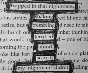 nightmare, quotes, and book image