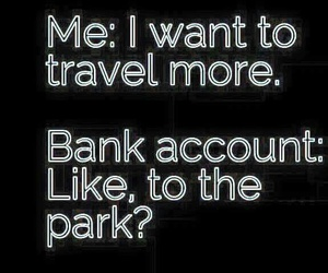 Bank and travel image