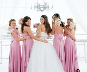 bride, bridesmaids, and photos image