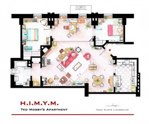 himym, how i met your mother, and apartment image