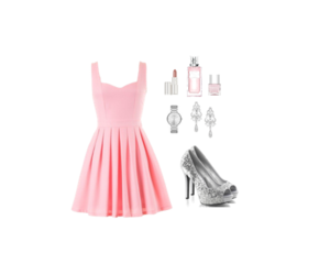 accessories, chic, and dress image